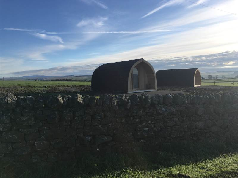 Glamping in Northumberland