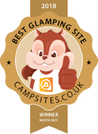 Best Glamping Site 2018 - North East Winner