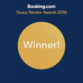 Booking.com - Guest Review Award Winner 2018